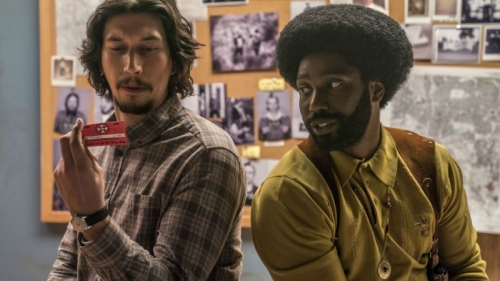 Blackkklansman, j'ai infiltré le ku klu klan, Spike Lee, John David Washington, Adam Driver, Laura Harrier